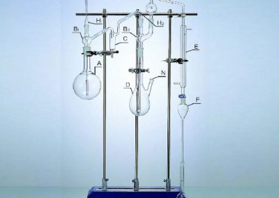 Fluoride Ion Distilling Set