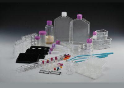 Cell culture plasticware